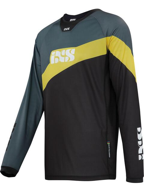 IXS Race 7.1 DH Longsleeve Jersey Men black/yellow